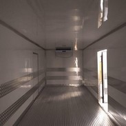Refrigeração baú frigorífico