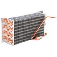 Trocador de calor para expositor vertical